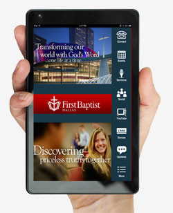 Church App Layout