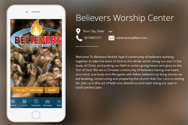 Believers Worship Center App