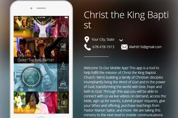Christ the King Baptist Church App