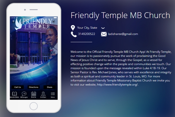 Friendly Temple MB Church