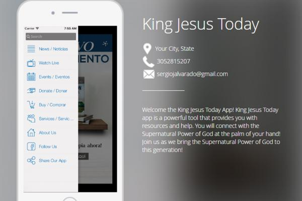 King Jesus Today Church App