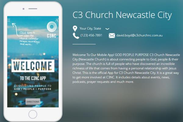 Newcastle Church App