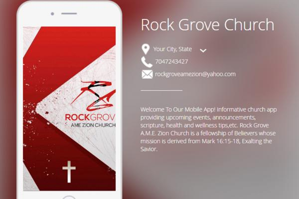 Rock Groveh Church App