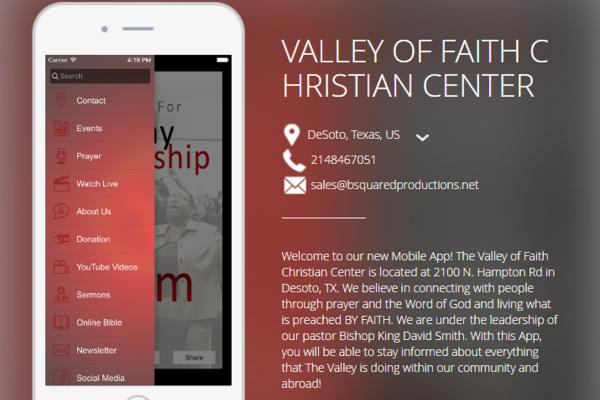 Valley Of Faith Christian Center Church App