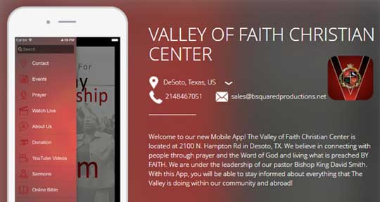 VALLEY OF FAITH