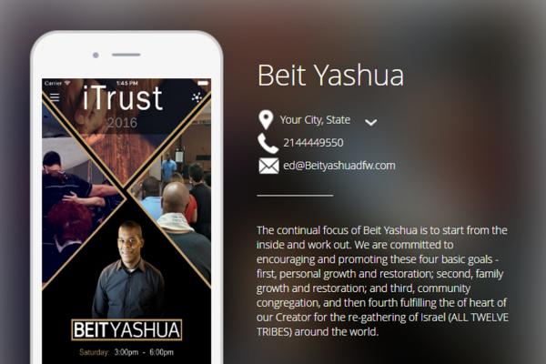 Beit Yashua Church App